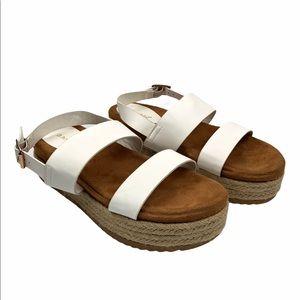 BAMBOO   NEW Espadrille Platform Sandals   Size 9
